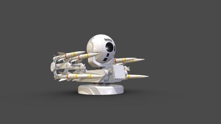Rpiaer Missile System 3D Model