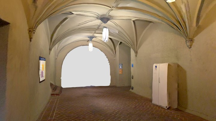 UC Berkeley tunnel v2 3D Model