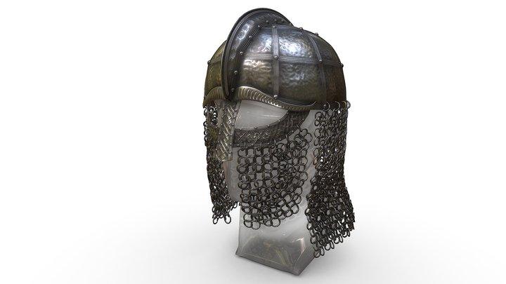 Early medieval nasal helmet 3D Model
