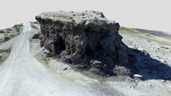 Black Rock After 3D Model