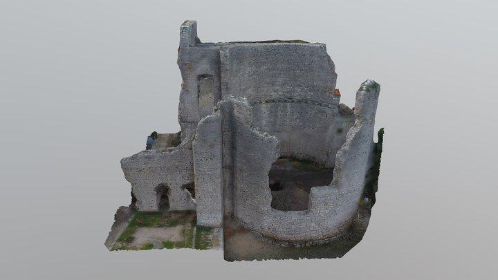 Rimska palača - Mljet, Polače 3D Model