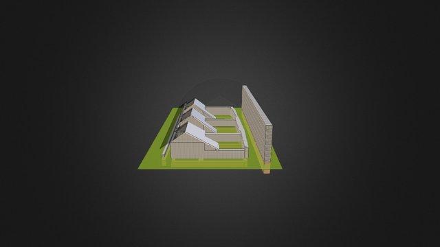 Bourgfontaine, original Texture 3D Model