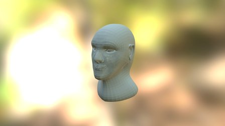 ZBrush Bust - Marc Bosch Mestras 3D Model