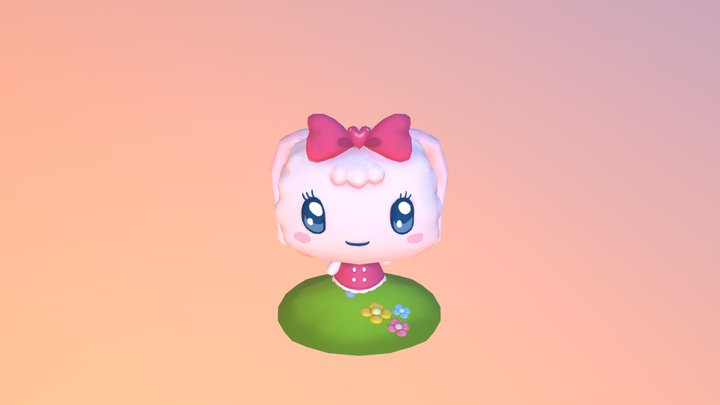 My Tamagotchi Forever 3D Model