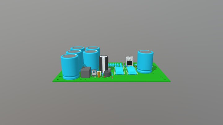 PSU30A 3D Model