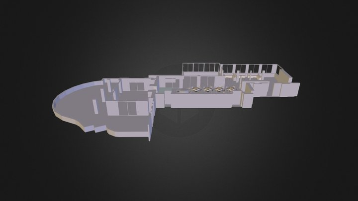 Clubhouse-MODEL SOPHIE.dae 3D Model