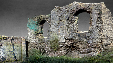 The Bishop's Palace. Llandaff 3D Model