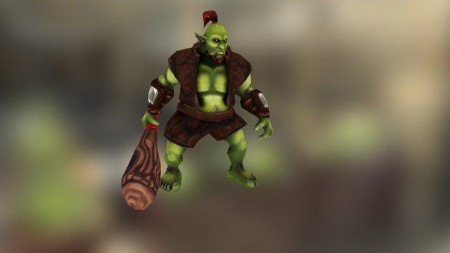 Ogre - Hand Painted 3D Model