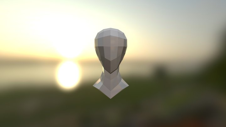 Humanhead 3D Model