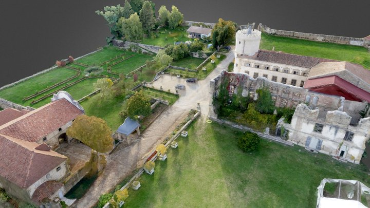 Château de l'Arthaudière 3D Model