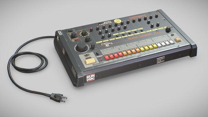 Roland TR-808 3D Model