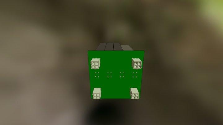 Avionics Power PCB 3D Model