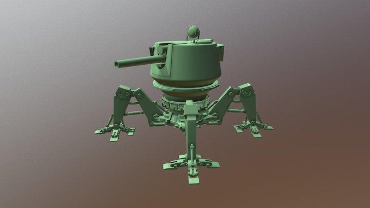 MechaTank_WIP 3D Model