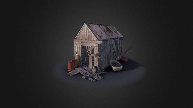 Test shack 3D Model