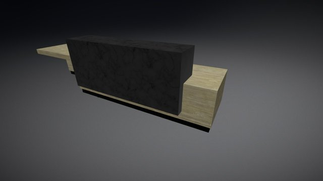 MUEBLE HALL ACCESO04 3D Model