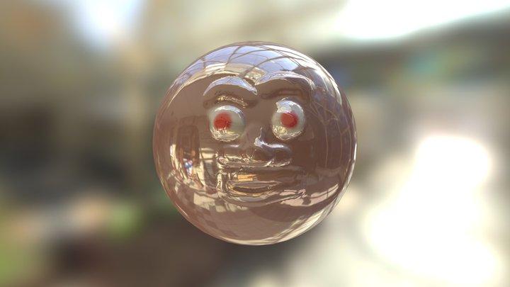 злое лицо 3D Model