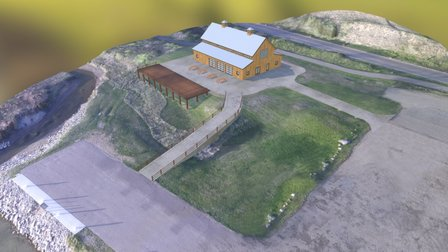 Missouri River Landing Warehouse - Bismarck, ND 3D Model