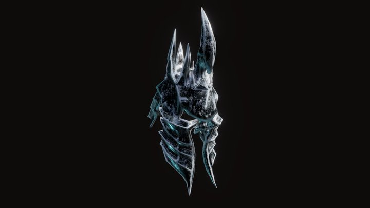 Helm of Domination (Lich King) 3D Model
