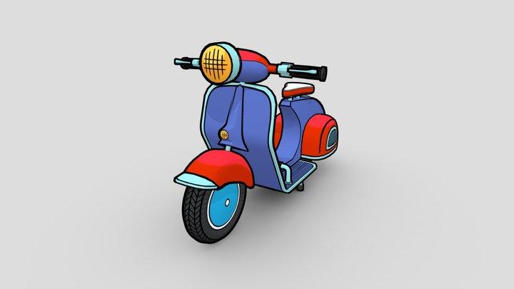 Vespa 150 3D Model