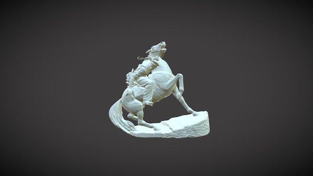 """3D модель """"Солдат на коне"""" 3D Model"""