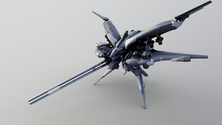 UGSF GEO-FRAME ALPHA19 3D Model