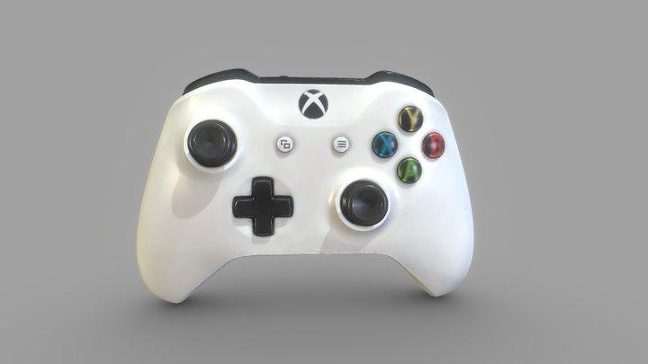 Xbox Wireless Controller 3D Scan Data 3D Model