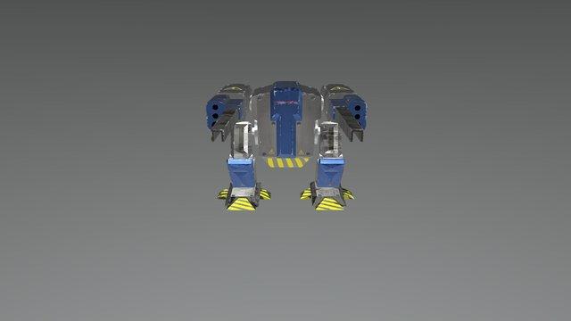 Mech (BattleChess) 3D Model