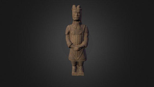 Guerreiro de Xi´an 3D Model