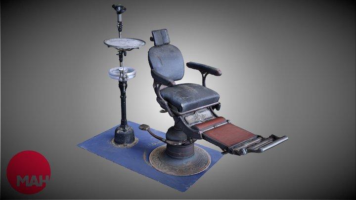 Dr. Cureton's Dentist Chair 3D Model