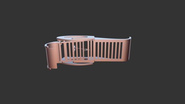 lettino IBIS 3D Model