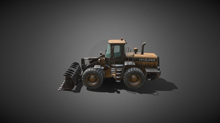 the old Loader 3D Model
