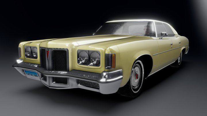 Pontiac Catalina Hardtop 3D Model