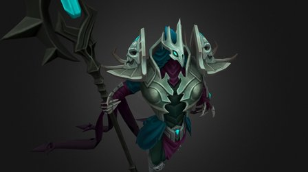 Gravelord Azir 3D Model