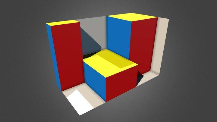 Obj02 A 3D Model