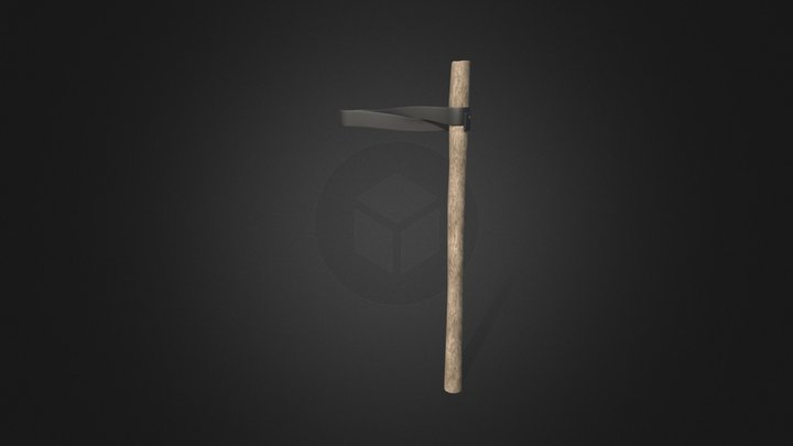 Tree Holder support pole stake 3D Model