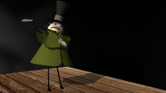 Mr. Hyde (Nightmare Before Christmas) 3D Model