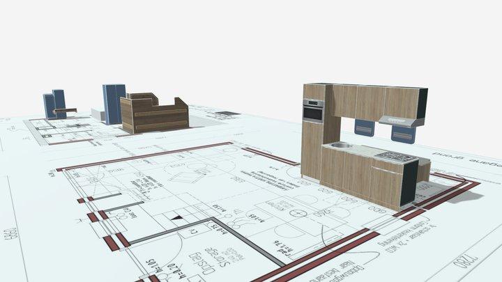 VIP house 3D Model