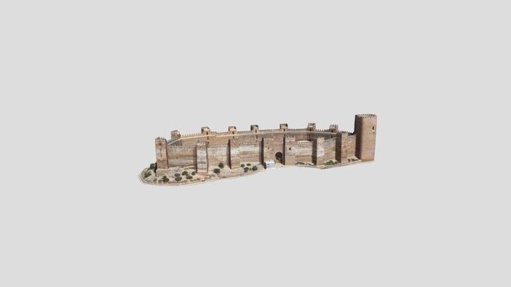 Burgalimar Castle 3D Model
