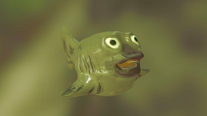 Radioactive Fish 3D Model
