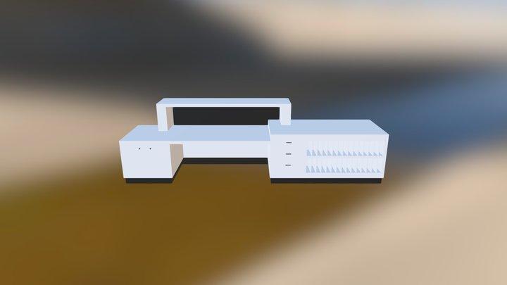 mueble hall CG 3D Model