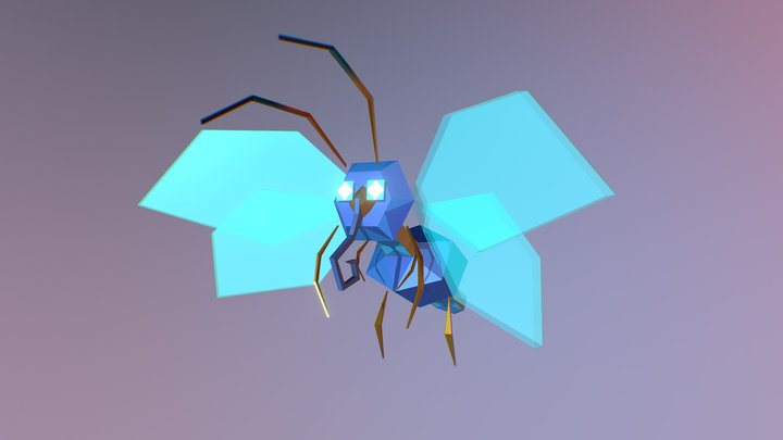Lepidoptera@idle 3D Model