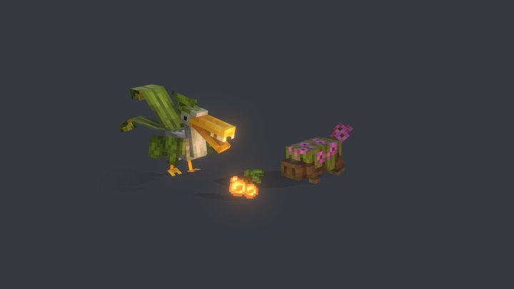 creatures 3D Model