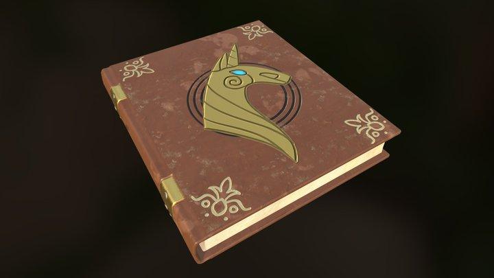 MLP Story Book 3D Model