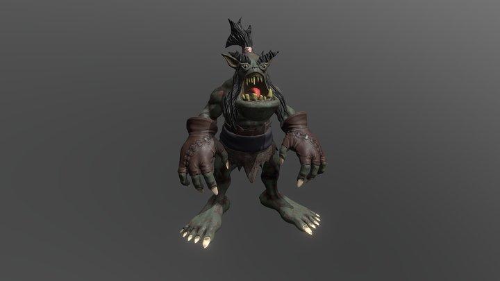 Warrior Ghoul 3D Model