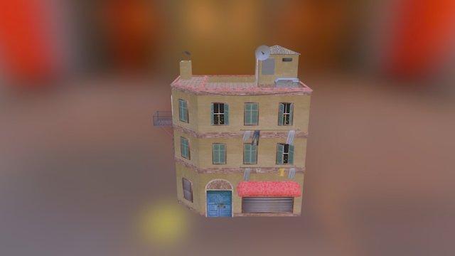 Cityscene House1 Test Upload 3D Model