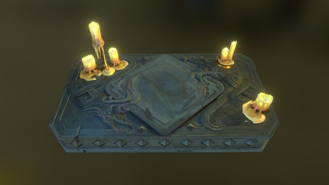 RuneScape Chronicle Table 3D Model