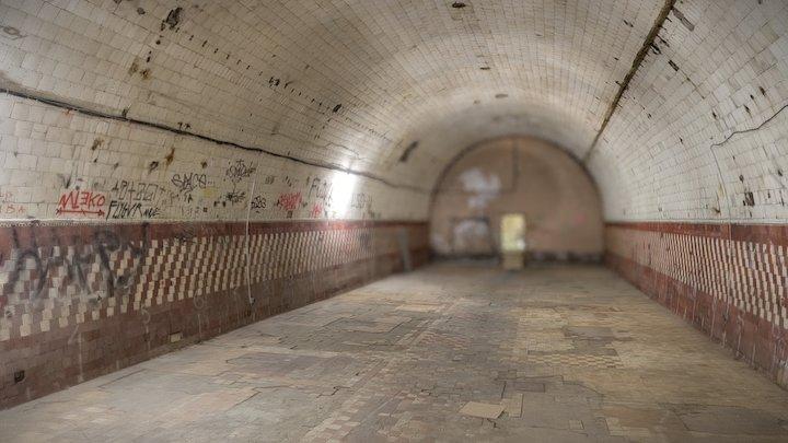 Underground room 3D Model