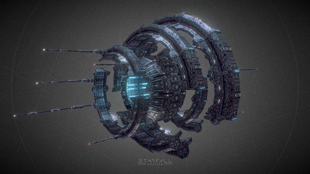 Starfall Tactics — Warp gate 3D Model
