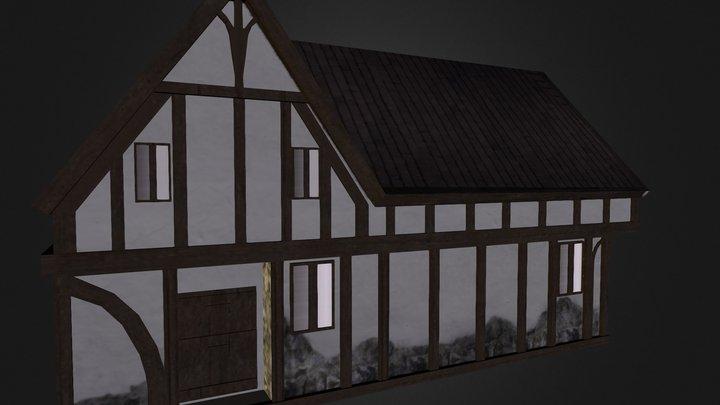 Village House 1 3D Model