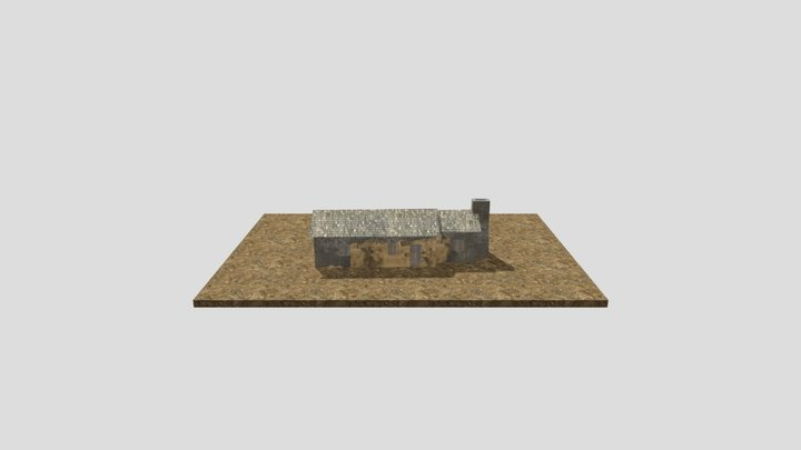 Toby's Cottage Reconstructed 3D Model